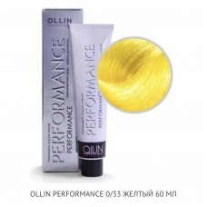 Ollin Perfomance 0/33 Gold Mix ton Permanent color