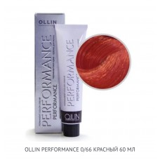 Ollin Perfomance 0/66 Red Mix ton Permanent color