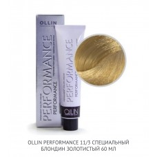 Ollin Perfomance  11/3 Gold  Permanent color