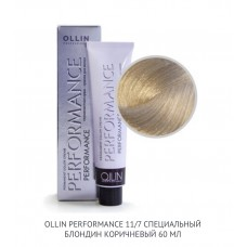 Ollin Perfomance 11/7 Brown Permanent color