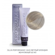 Ollin Perfomance 10/8 Pearly Permanent color