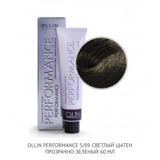 Ollin Perfomance 5/09 Deep Natural Cold Permanent color