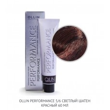 Ollin Perfomance 5/6 Red Permanent color