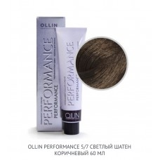 Ollin Perfomance 5/7 Brown Permanent color