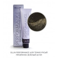 Ollin Perfomance 6/09 Deep Natural Cold Permanent color