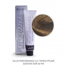 Ollin Perfomance  6/3 Gold  Permanent color