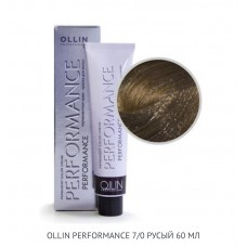 Ollin Perfomance 7/0 Natural Permanent color