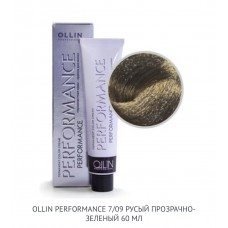 Ollin Perfomance 7/09 Deep Natural Cold Permanent color