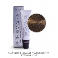 Ollin Perfomance 7/31  Gold Ash  Permanent color