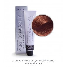 Ollin Perfomance 7/46  Copper Red Permanent color