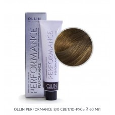 Ollin Perfomance 8/0 Natural Permanent color