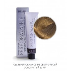 Ollin Perfomance  8/3 Gold  Permanent color