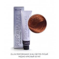 Ollin Perfomance 8/46  Copper Red Permanent color
