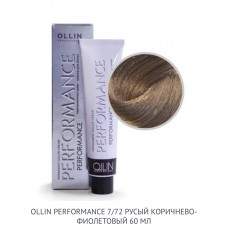 Ollin Perfomance 7/72 Brown Violet Permanent color