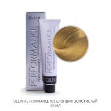 Ollin Perfomance  9/3 Gold  Permanent color